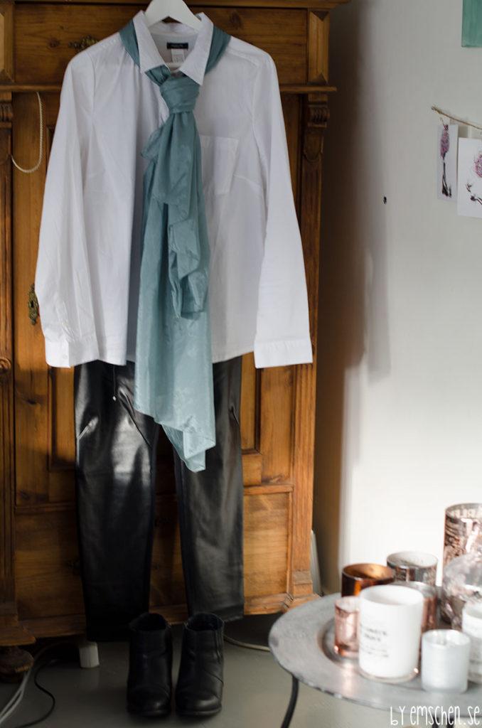 ett par byxor, 4 outfits